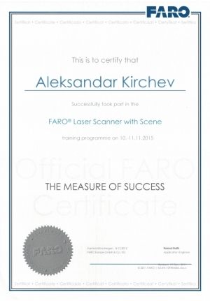 Faro 3D Laser Scanning