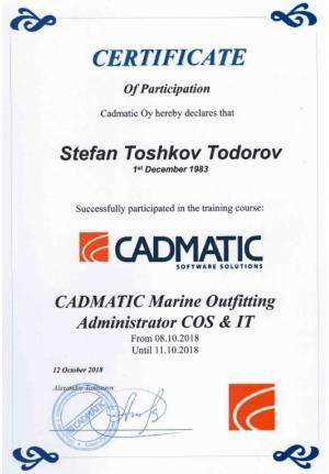 Cadmatic Admin